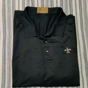 New Orleans Saints Reebok polo. Size XL